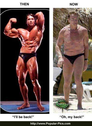 arnold schwarzenegger today